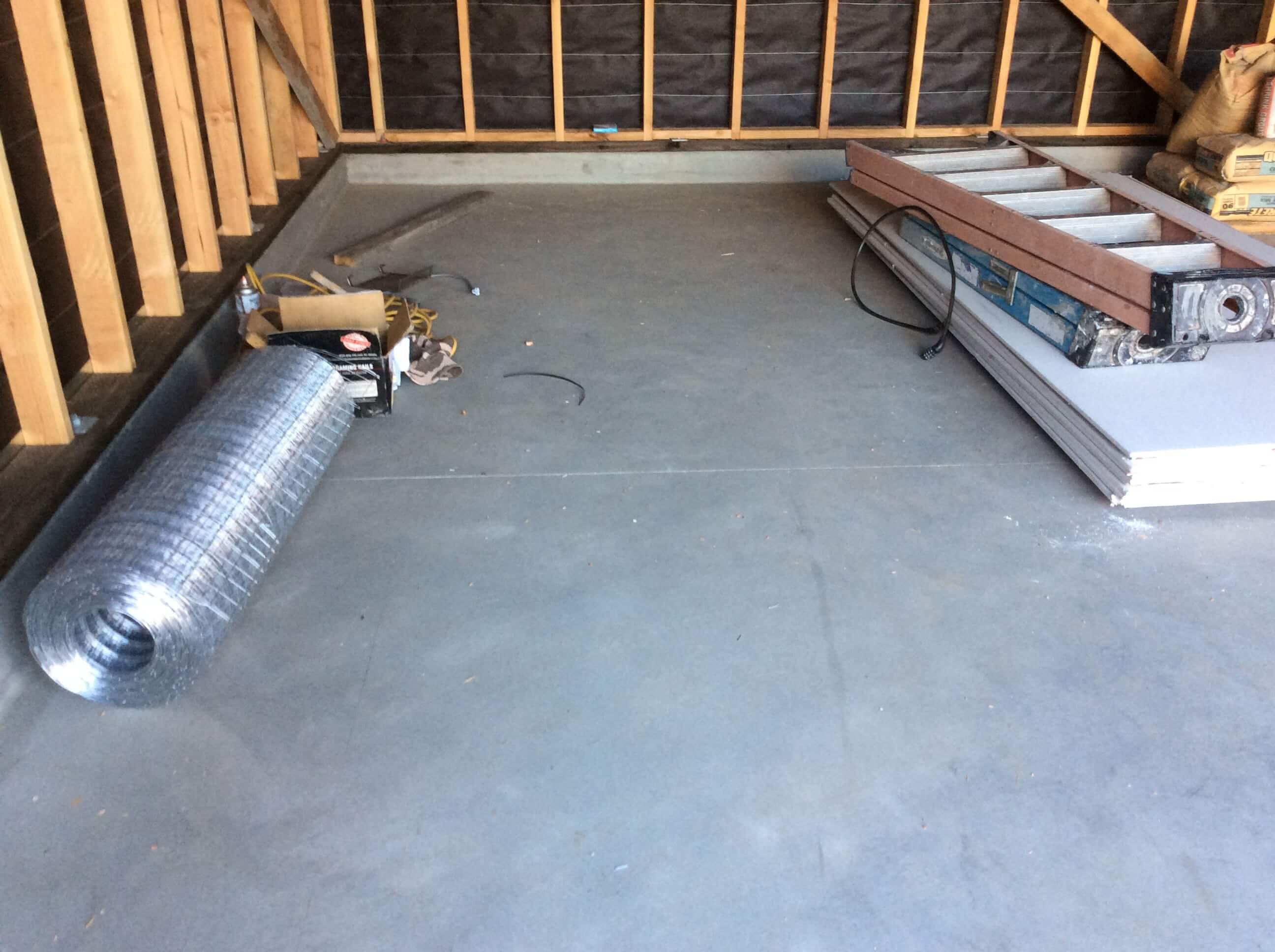 Finished Concrete Interior