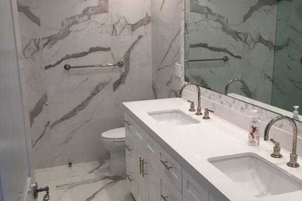 20 AMRON design build master bathroom