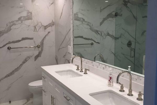 22 AMRON design build master bathroom