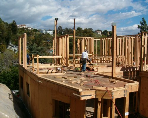 4b AMRON new home construction framing
