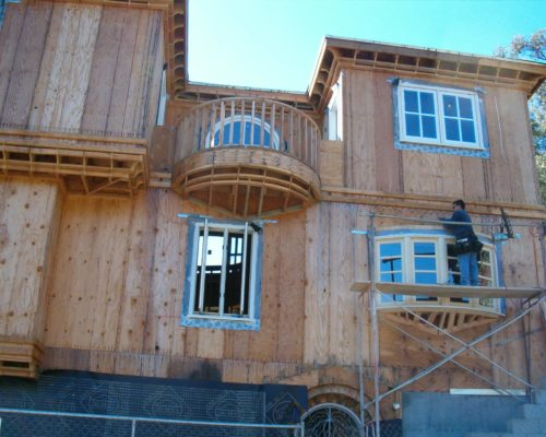 4d AMRON residential construction window installation