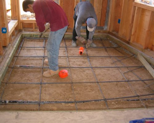 5a AMRON floor for new house construction